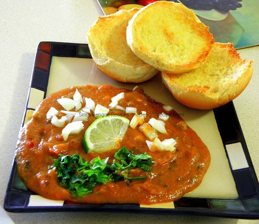 Pav Bhaji - Bengali recipe | Breakfast Snacks and Appetizers