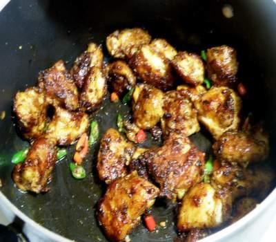how to make indian chilli chicken gravy