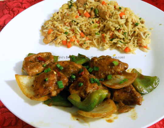 how to prepare pepper chicken gravy restaurant style