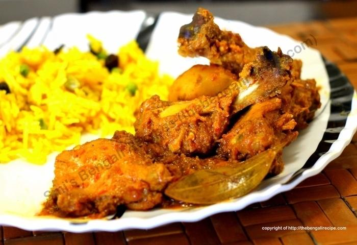 Chicken kosha or dry chicken curry mutton and chicken recipes bengali recipe of chicken kasha or spicy dry chicken curry bengali murgi kosha or kolkata forumfinder Images