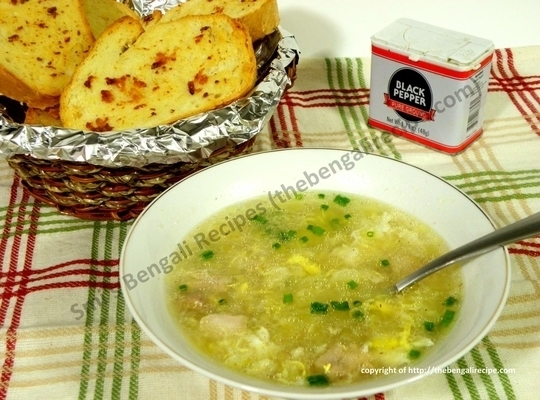 Indian chicken sweet corn soup mutton and chicken recipes all calcutta china town chinese restaurant style chicken sweetcorn soup recipe with step by step photos forumfinder Images