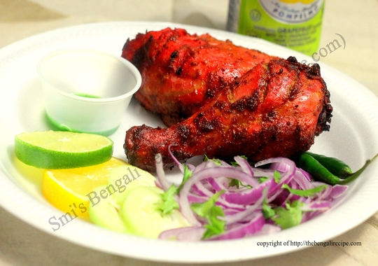 how to make tandoori chicken at home