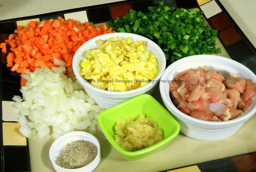Bengali fried rice recipe easy